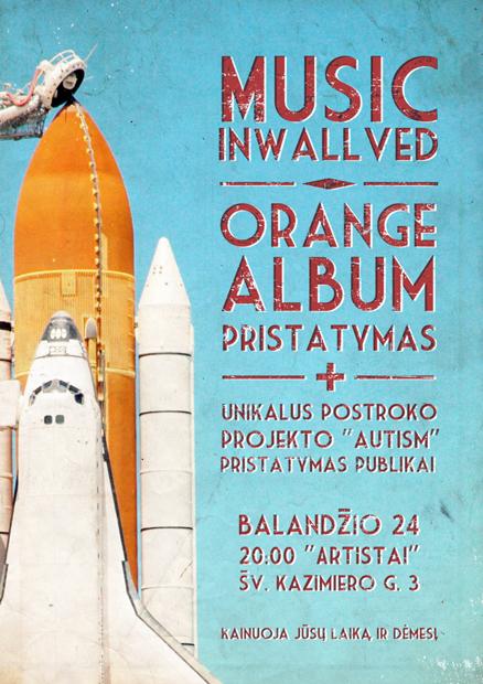 Music InWallved - Orange Album