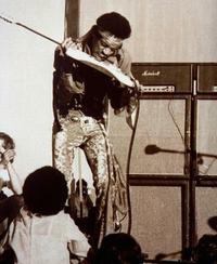 Geriausio gitaristo vardas - Jimi Hendrix'ui. [